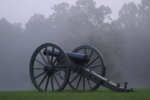 Cannon Black foggy day