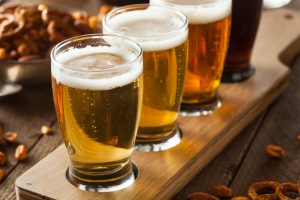 Three Beer tasting