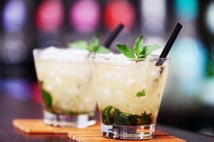 two Mint julep