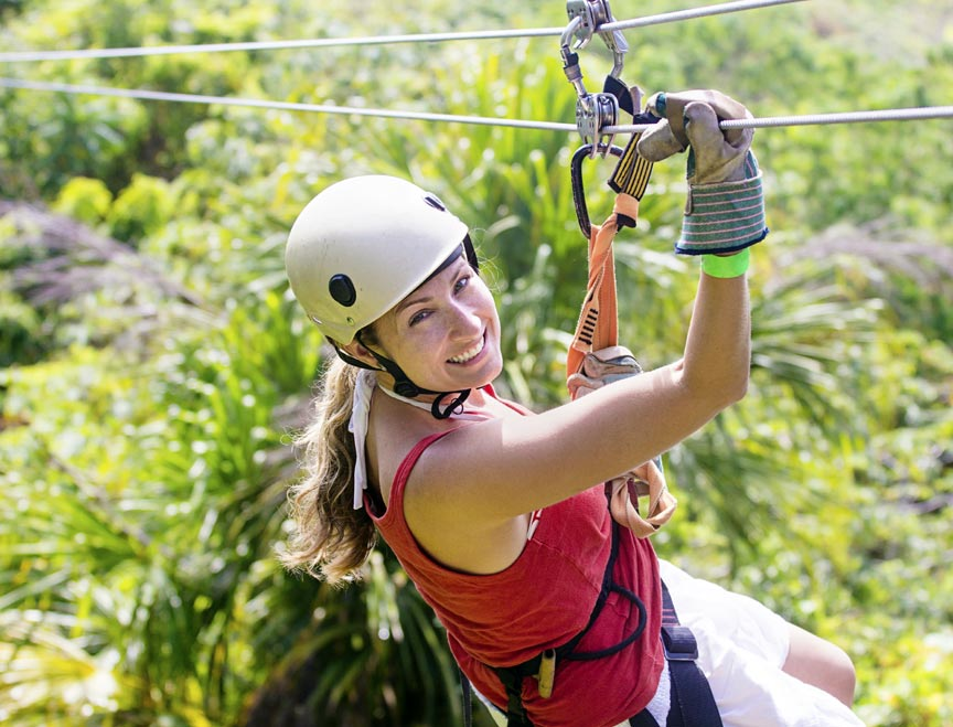 ZIP LINE FEMALE